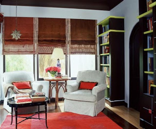 window treatment by interior designer Mark Cutler