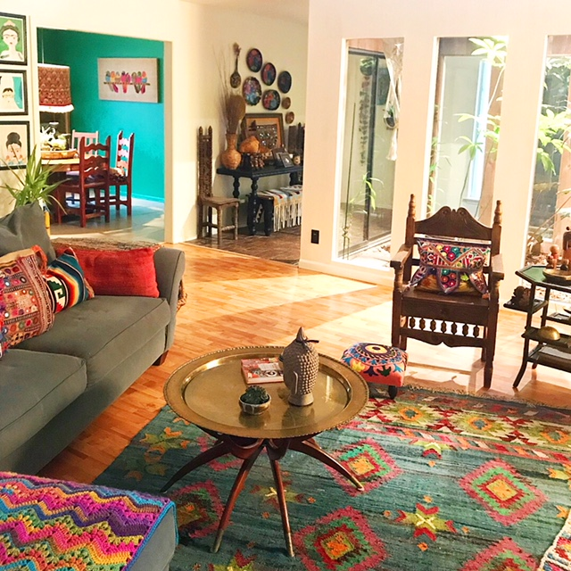 Texas Home Decor: Home Tour: Bohemian, Eclectic, Vintage & Thrift Decor In
