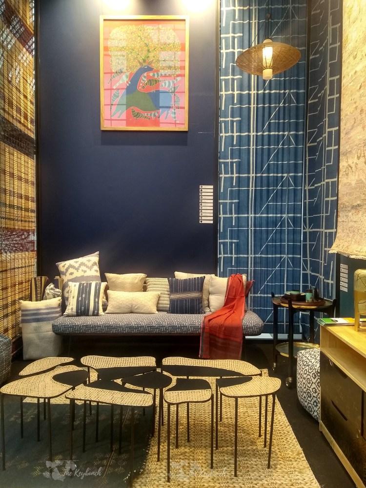 Indian living room trends in desi-global design style