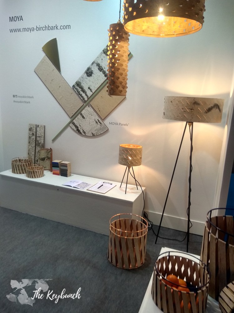 German designer Anastasiya Koshcheeva's beautiful birchbark sustainable products.