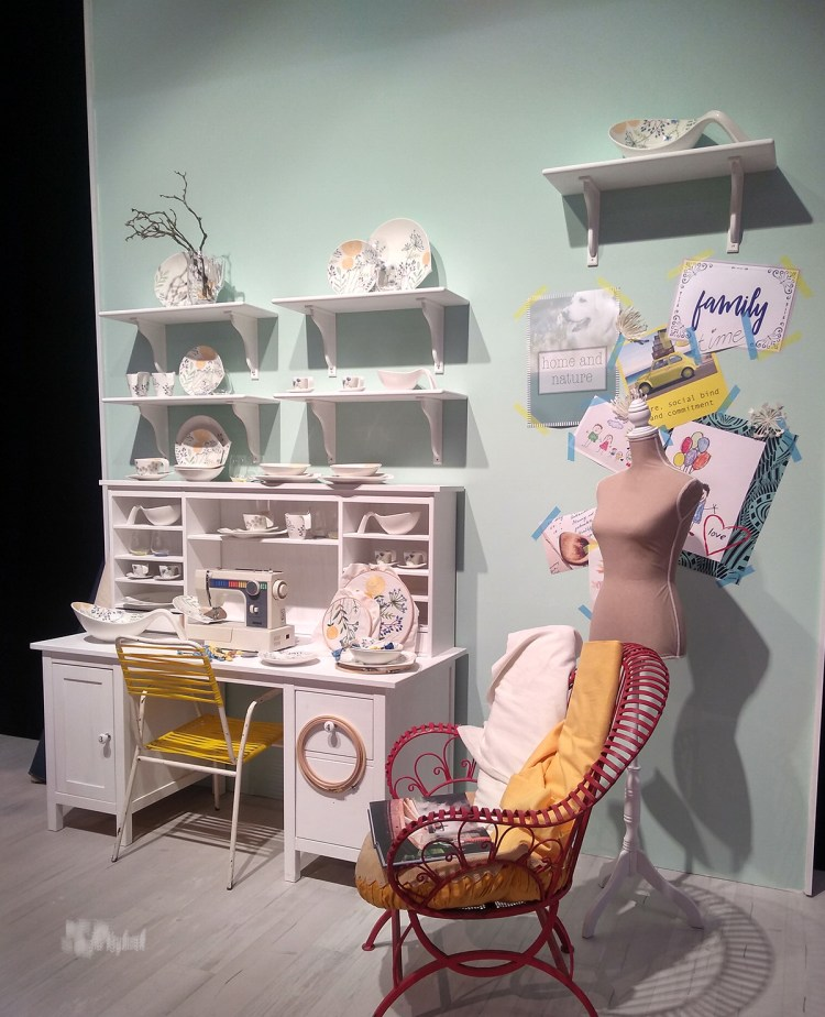 One of the most 'homey' displays spotted at Ambiente