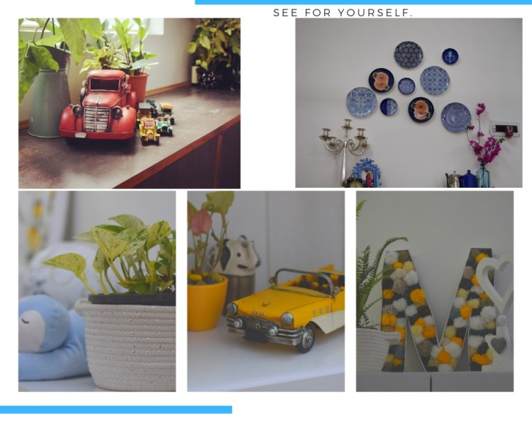 Home decor Tour by Ankita and Sitanshu's in Lucknow - the decor pieces in nursery room