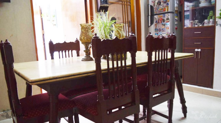 Home decor Tour by Ankita and Sitanshu's in Lucknow - The Dining Table