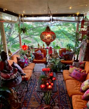 Martine's boho chic abode in Australia