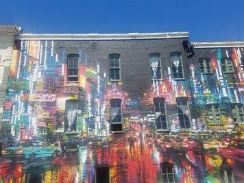 City Nights - Mural