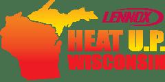 Heat U.P. Wisconsin Logo