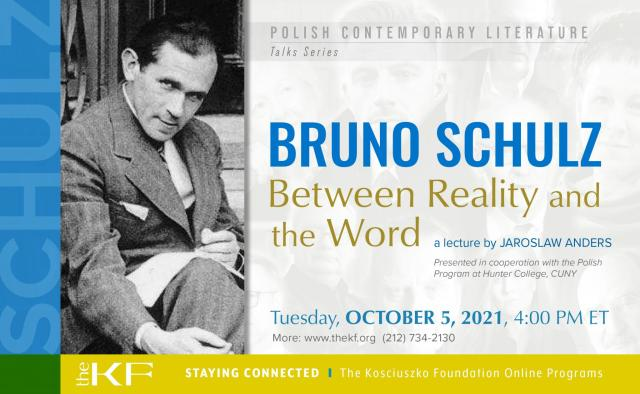 Bruno Schulz – Between Reality and the Word