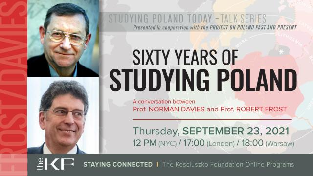Studying Poland with Professors Davies and Frost