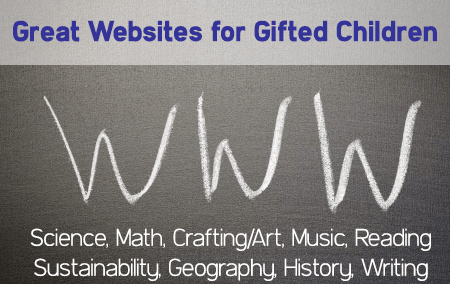 Websites for Gifted Students