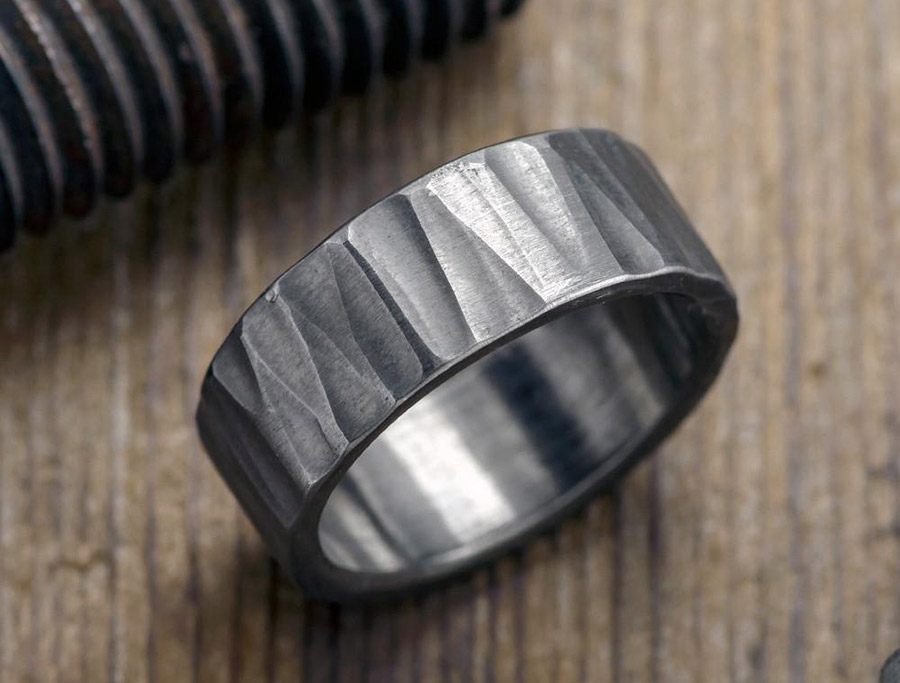 Mens-Wedding-BandSterling-Silver