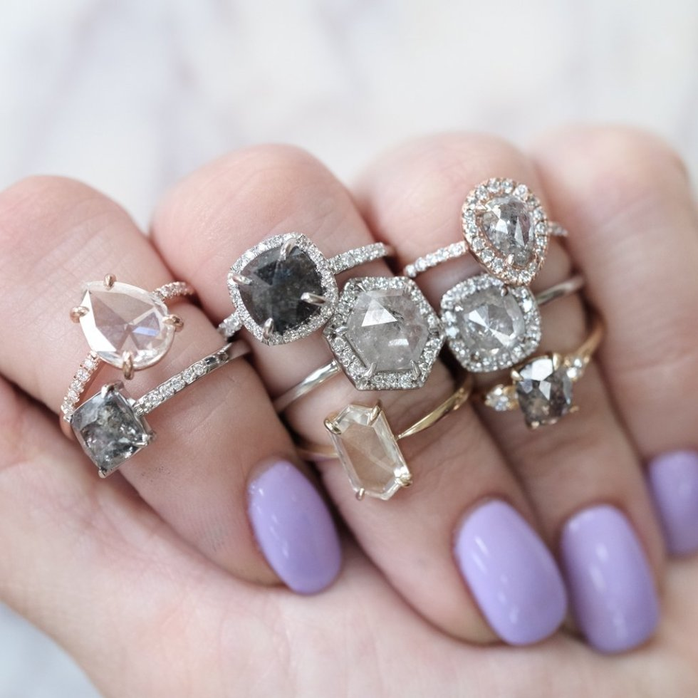 Point No Point Studio Engagement Rings