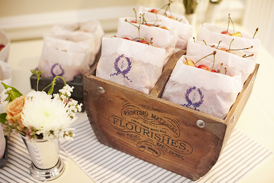 Cherries Wedding Favors