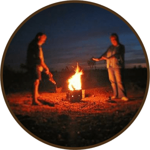 Camping with the Kingaroy Choofer