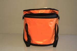Choofer Vinyl Bag Orange Round
