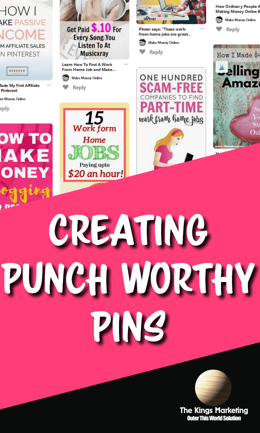 Creating Punch-Worthy Pins