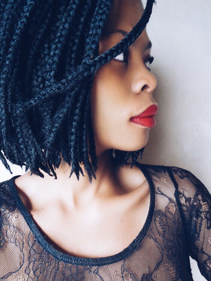 Natural Hair- Protective Styles- Bob Box Braids