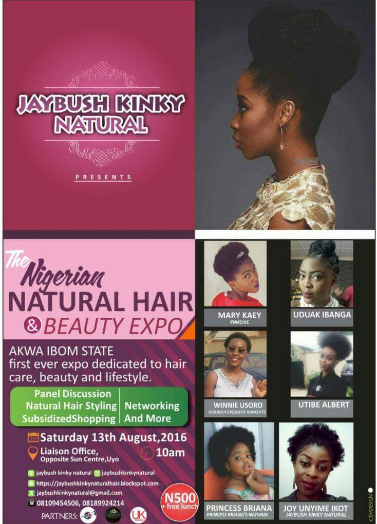 Natural hair events in Uyo