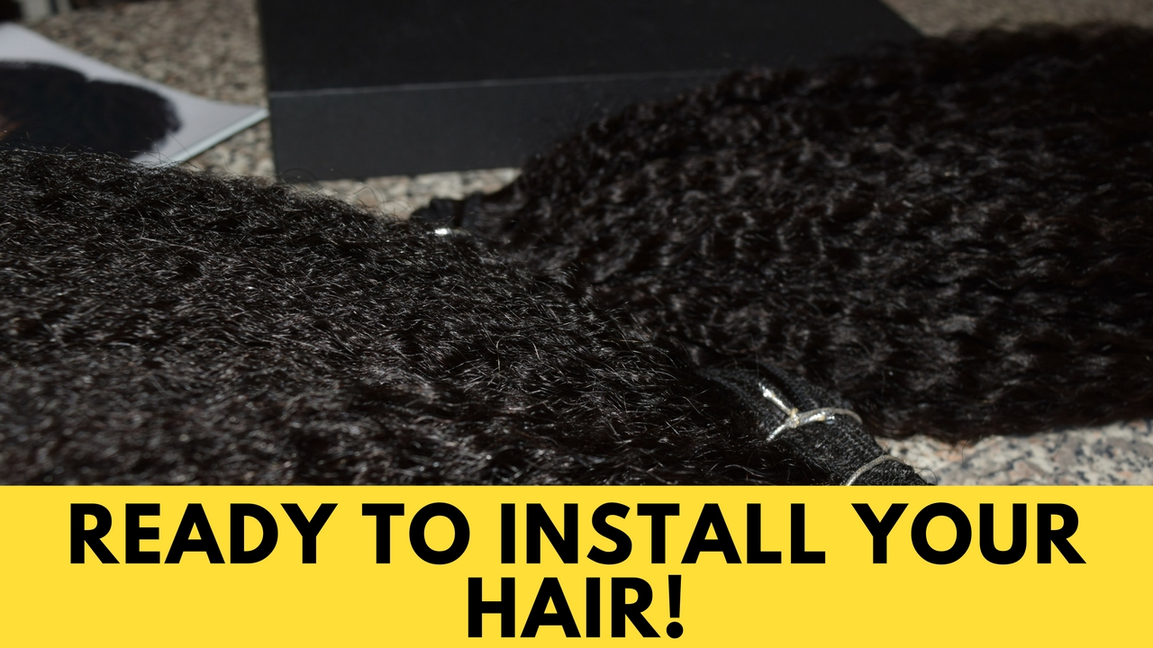 How To Prep Hair Extensions The Kink And I