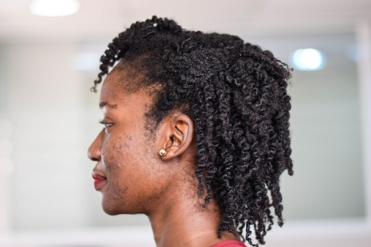 Wet Twist Out with AfroRoots Styling Custard