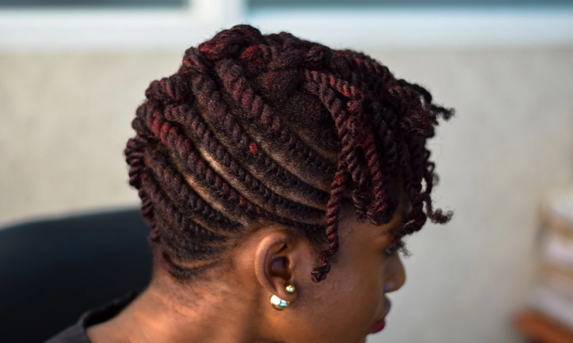 work style: funky patewo flat twist updo | the kink and i