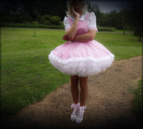 Public Humiliation: Sissy Gets a Day Out, with an Added