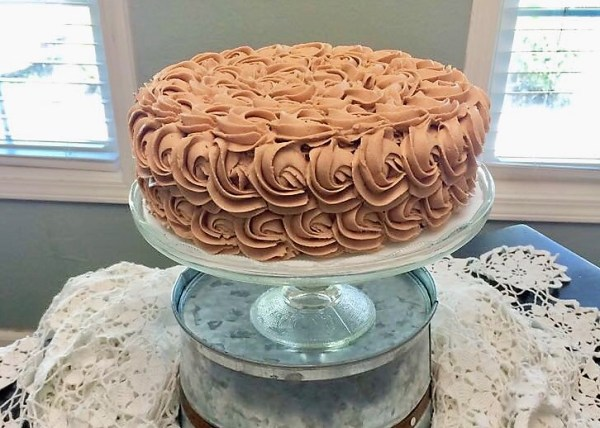 chocolate-cake-rosette