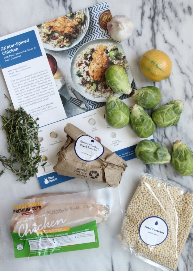 Blue Apron - Za'atar-Spiced Chicken
