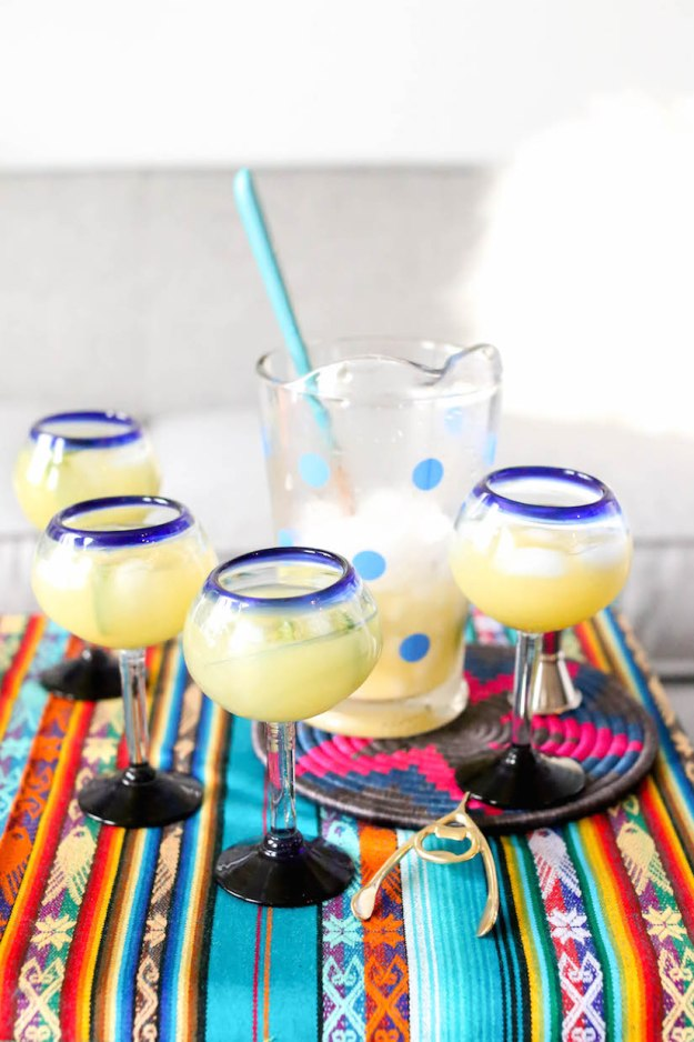 Homemade spicy margarita recipe