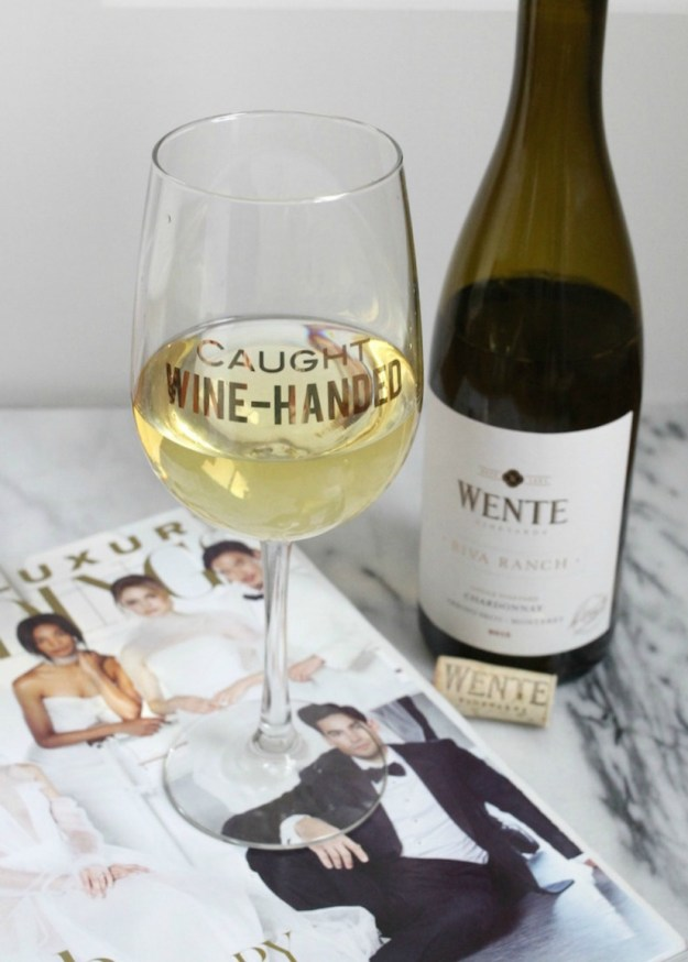 Caught Wine-Handed - May 25 National Chardonnay Day