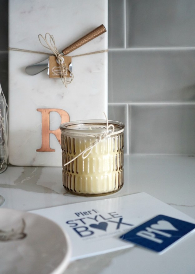 Pier 1 Candle - Style Box