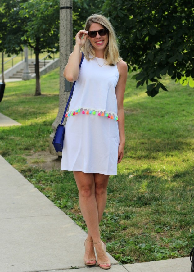 Summer white Shein dress