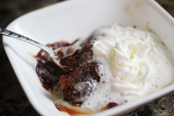 Gooey Brownie Pudding