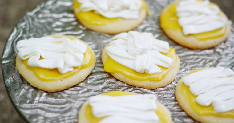 Lime Iced Sugar Cookies