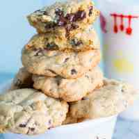 Thick and Chewy Chocolate Chip Cookie Recipe