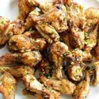 Amazing Salt and Pepper Chicken Wings