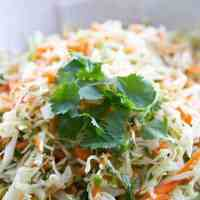 Simple Mexican Coleslaw