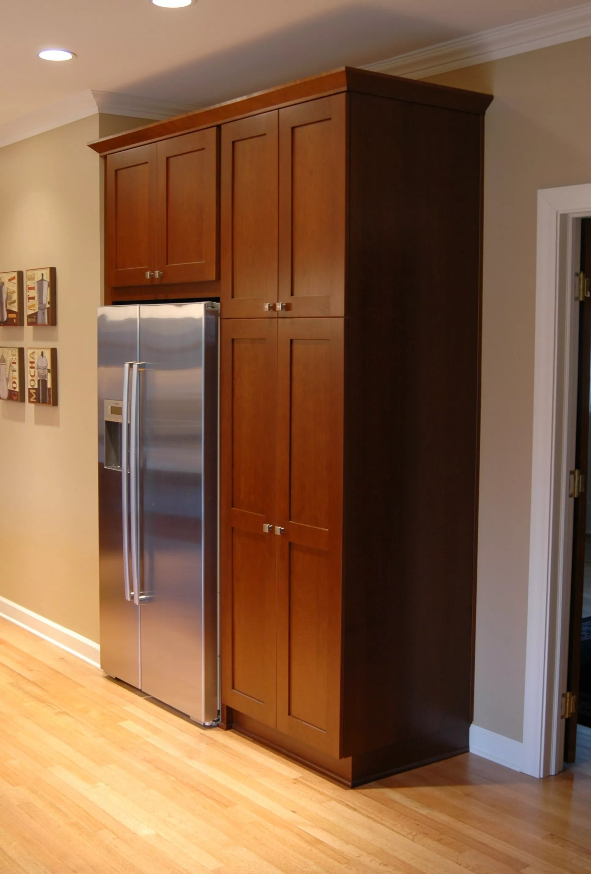 3 Cabinet Pantry And Counter Depth Refrigerator Replaces