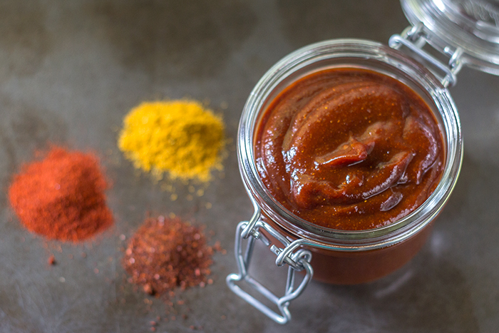 Quick Curry Ketchup - The Kitchen Maus