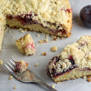Quick Plum Streusel Cake (Pflaumenkuchen) by the Kitchen Maus