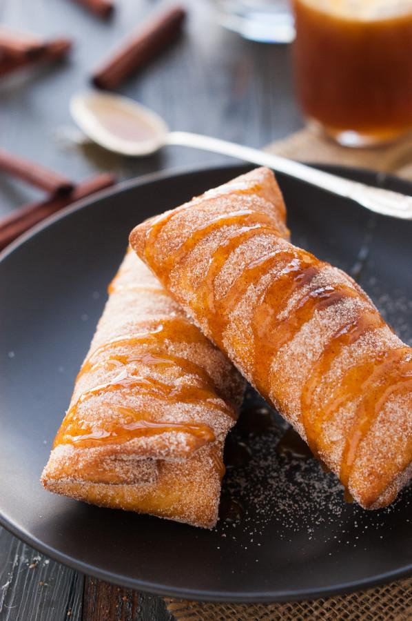 Tortilla Fried Dessert Deep