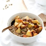 Spiced Apple Breakfast Bowl (V&GF)