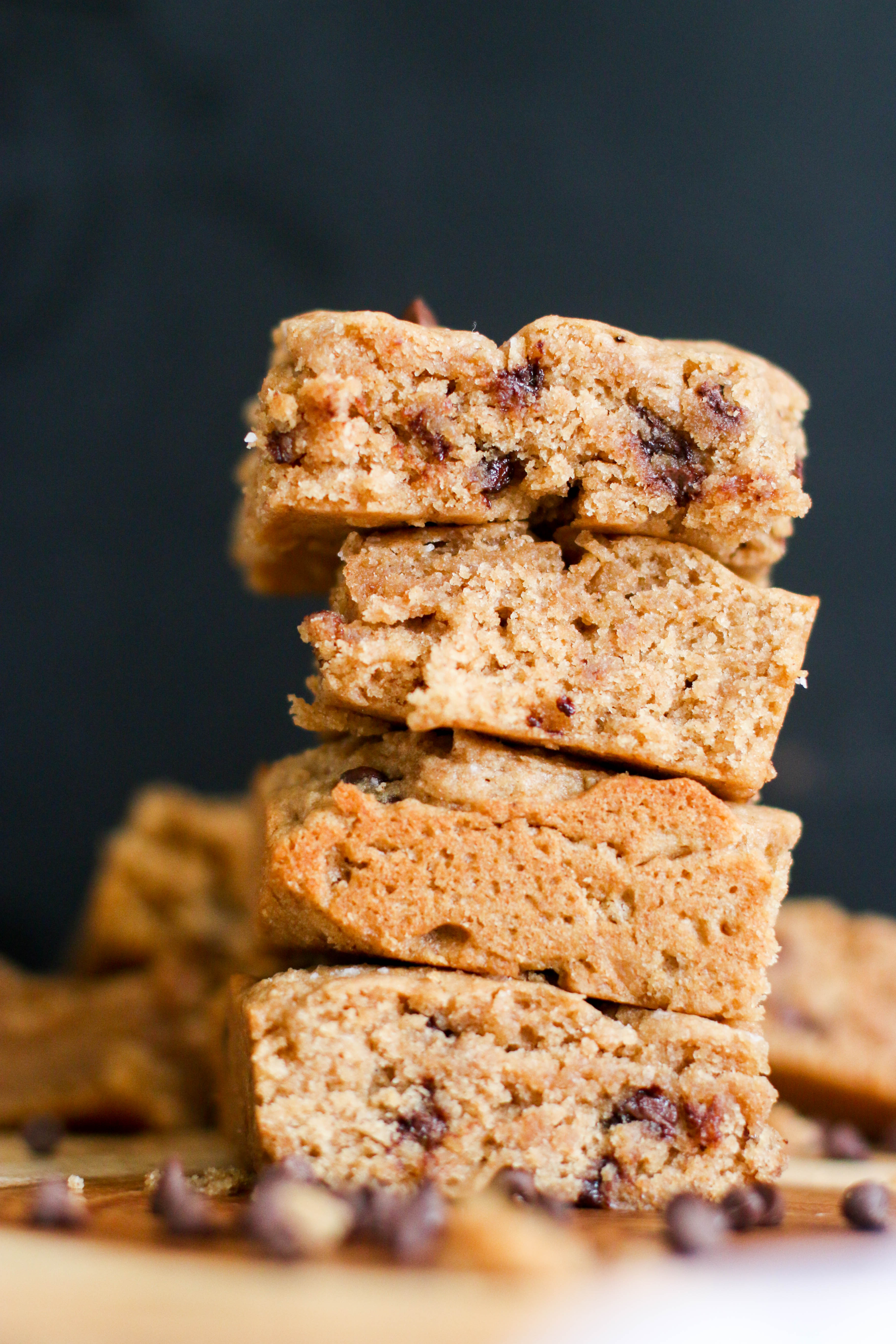 When You Make These Vegan Chocolate Chip Cookie Bars, Dont