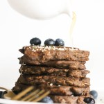 Blueberry Buckwheat Oatmeal Pancakes (V&GF)