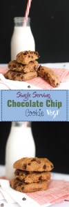 This paleo, single serving chocolate cookie is absolutely delicious and the perfect healthy dessert. It's gluten free, refined sugar free, and absolutely delicious. In 20 minutes, you'll have a gigantic cookie!