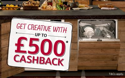 Neff Kitchen Appliances: Up to £500* Cashback 2018