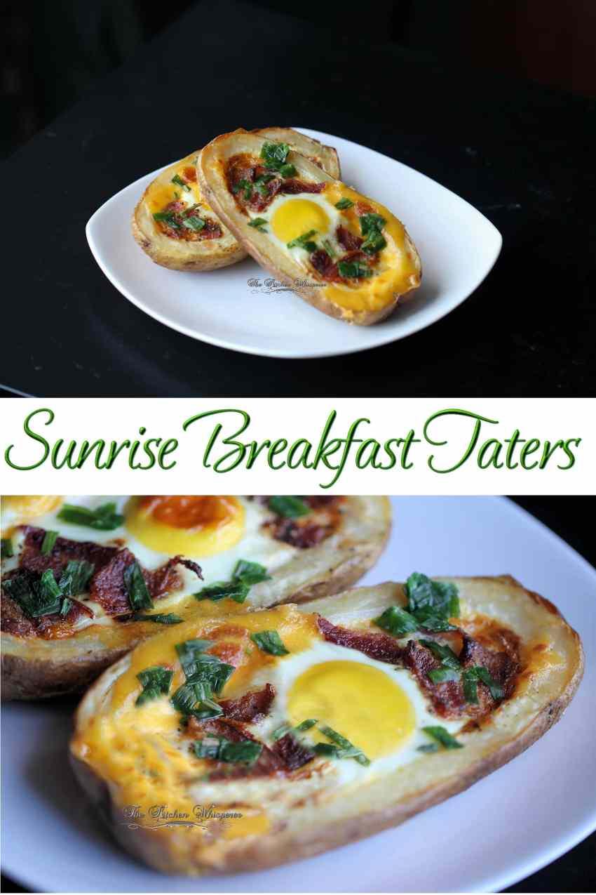 Sunrise Breakfast Taters Collage