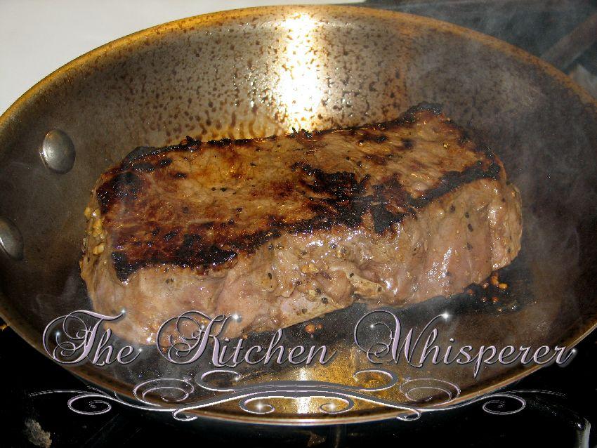 Better Than Restaurant Quality New York Strip Steaks