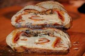 Pepperoni Pretzel Bread with Manwarning Tuscan Rub Cheese