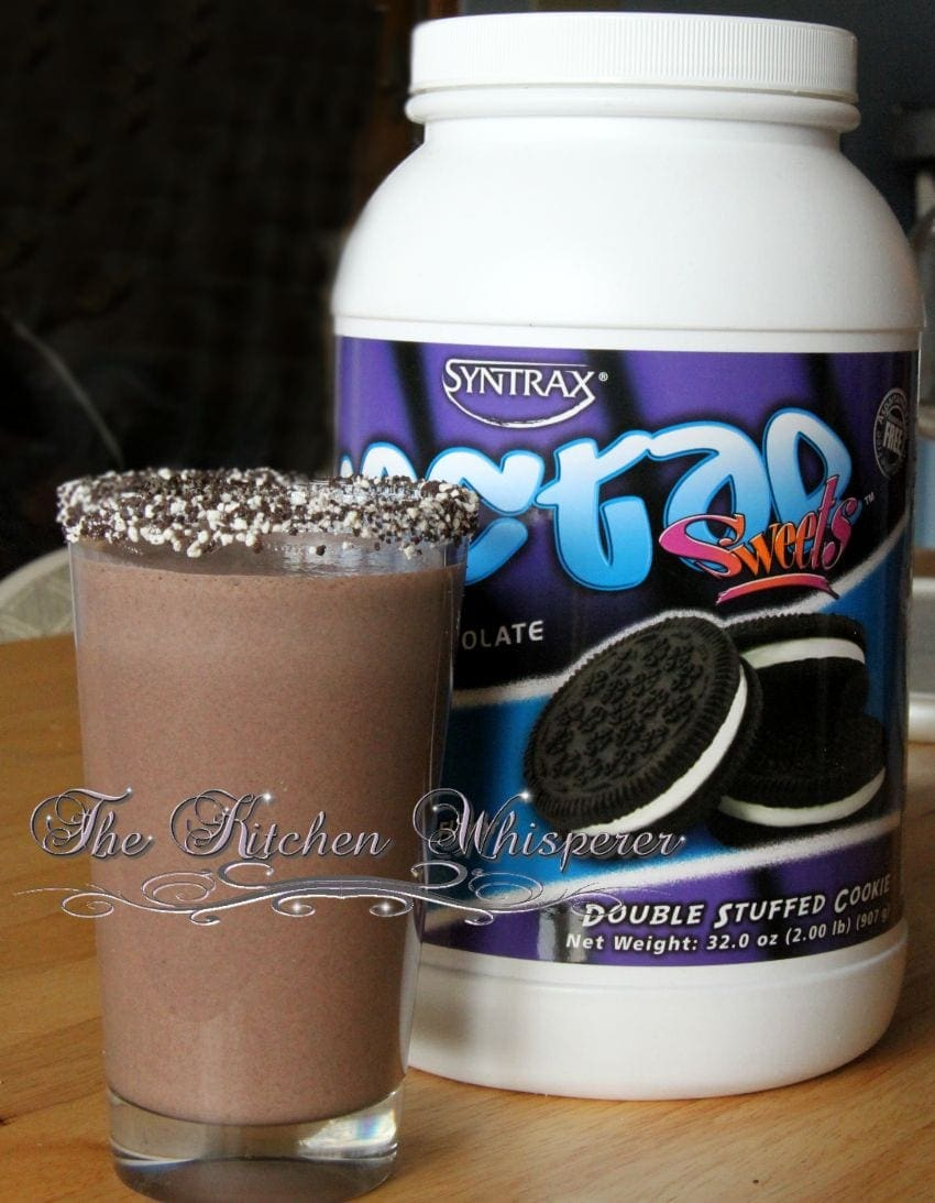 Protein Cake Batter Double Cookies shake2
