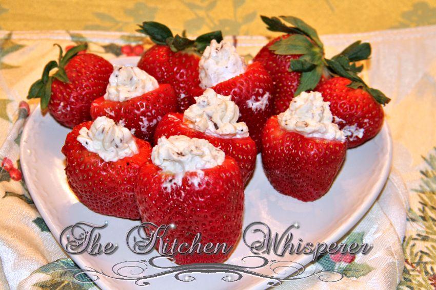IrishCreamCheesecakeStuffedStrawberries